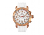 TW Steel Grandeur Tech 48mm White Dial Mens Watc..