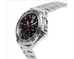 Tag Heuer Formula 1 Chronograph Black Dial Stain..