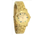 Marc by Marc Jacobs Amy Dexter Dial Gold-tone La..
