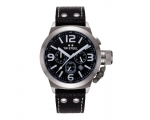 TW Steel Canteen Chronograph Black Dial Stainles..