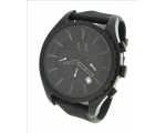 Armani Exchange Black Out Chronograph Mens Watch..