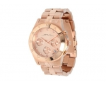 Marc Jacobs Blade Chronograph Rose Gold-Tone Lad..