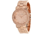 Marc by Marc Jacobs Rose Dial Rose Gold-tone Lad..