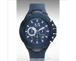 Armani Exchange Chronograph Blue Dial Blue Alumi..