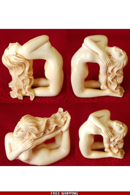 Ivory Nude Sculptures