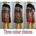 Ethnic Pattern Cotton Wra..