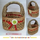 Wicker Fruit Basket Authentic Crafted..