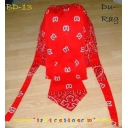 Doo rag Bandana Red Bikers Scull cap ..