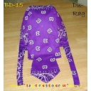 Cotton Du rag Bandanna Purple Bikers ..
