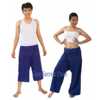 BLUE Thai Fisherman Pants..