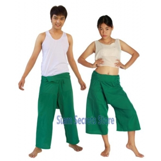 GREEN Fisherman Pants Y..