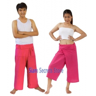 PINK Yoga Trousers Thai f..