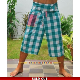 Fisherman Shorts 3/4 Wrap..