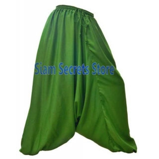 Green Harem Pants Hippy..