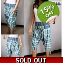 Blue-Green Check Ladies H..