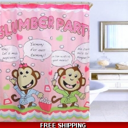 Fabric Shower Curtain L..