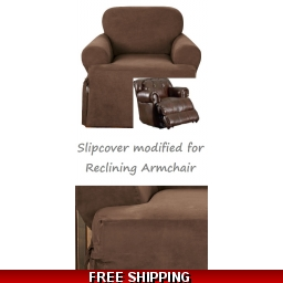 Reclining CHAIR Slipcover T ..