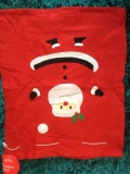 24 Fabric Christmas Santa Sacks