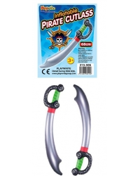 12 x Inflatable Pirate Cutlasses