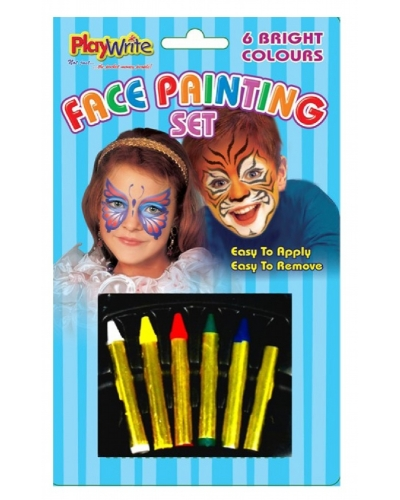 12 x Face Paint Sets