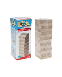 24 x Wooden Tower Game 42pc