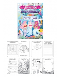 48 x Mermaid A6 Puzzle Books