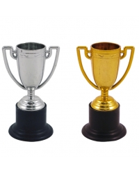 48 x Gold & Silver Trophies