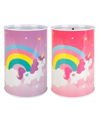 24 x Unicorn Money Box Tins