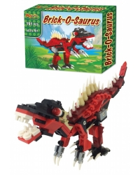 6 x Brick-O-Saurus Building Brick Sets