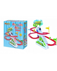 6 x Penguin Race Track Games