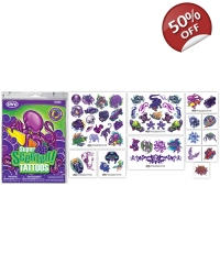 6 x Packs of 50 Grape Scented Tattoos