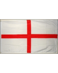 5 x Giant Cloth St Georges Flags