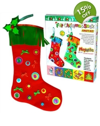12 x Make Your Own Christmas Stockings