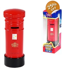 24 x Diecast London Post Boxes