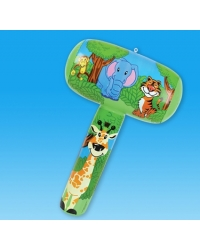 12 x Inflatable Jungle Animal Mallets