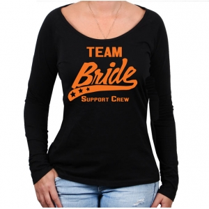 Bride Support Team Lognsleeve