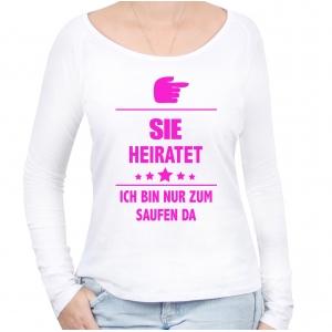 Er/Sie heiratet