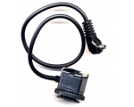 Male PC Sync Cord to Flash Hot Shoe Adapter
