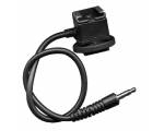 Miniphone 3.5mm jack Cord Flash hot Shoe Adapter..