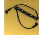 Coiled Sync lead for Vivitar 283 285 Male PC to ..