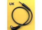 Male pc SCREWLOCK sync cord to 3.5 mm..