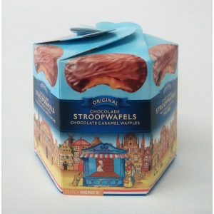 Dutch Hero's Chocolade Stroopwafels Chocolate Syrup Waffles 朱古力荷式華夫餅 400 gm