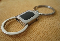 Titanium Quick Disconnect Keyring