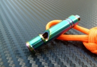 All Titanium Anodized Whistle