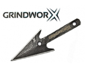 Grindworx Damascus Arrowhead