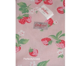 Cath Kidston Cooks Apron Mini Strawberry Pink Vintage Retro