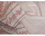 Greengate Quilt Audrey Raspberry Single Floral T..