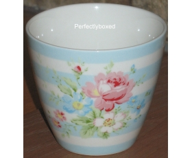 Greengate Latte Cup Marie Pale Blue Retro Mug