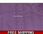 Purple Bed Runner Throw..