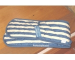 Double Oven Gloves Blue S..